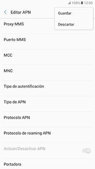 Configura el Internet - Samsung Galaxy A7 2017 - A720 - Passo 16