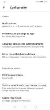 Cambiar configuración de actualizaciones de aplicaciones - Huawei P30 - Passo 8