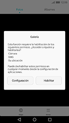 Transferir fotos vía Bluetooth - Huawei Cam Y6 II - Passo 4