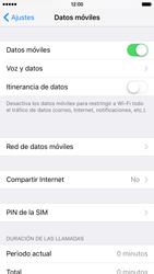 Desactiva tu conexión de datos - Apple iPhone 6s - Passo 3