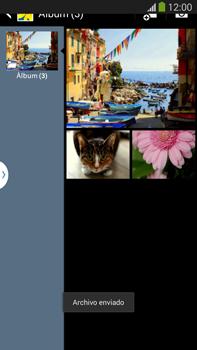 Transferir fotos vía Bluetooth - Samsung Galaxy Note Neo III - N7505 - Passo 14