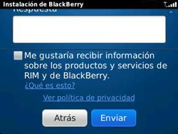 Crea una cuenta - BlackBerry Curve 9320 - Passo 9