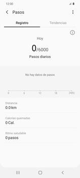 Cómo funciona el Samsung Health - Samsung Galaxy S20 - Passo 11