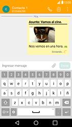 Envía fotos, videos y audio por mensaje de texto - LG G5 - Passo 18