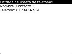 ¿Tu equipo puede copiar contactos a la SIM card? - BlackBerry Curve 9320 - Passo 7