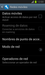 Desactiva tu conexión de datos - Samsung Galaxy Win - I8550 - Passo 6
