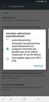 Cambiar configuración de actualizaciones de aplicaciones - Samsung Galaxy Note 8 - Passo 6