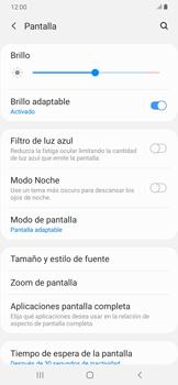 Ajustar el brillo/ Suspensión de pantalla - Samsung Galaxy A30 - Passo 4