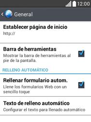 Configura el Internet - LG L20 - Passo 23