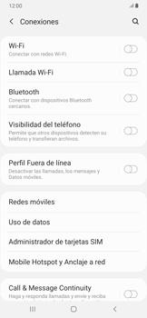 Configura el hotspot móvil - Samsung Galaxy A30 - Passo 5