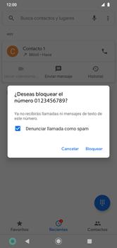 Contesta, rechaza o silencia una llamada - Motorola Moto G8 Play (Single SIM) - Passo 6