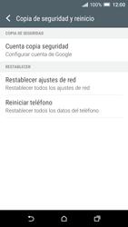 Restaura la configuración de fábrica - HTC One A9 - Passo 5