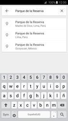 Uso de la navegación GPS - Samsung Galaxy S6 - G920 - Passo 9
