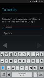 Crea una cuenta - Samsung Galaxy A3 - A300M - Passo 4