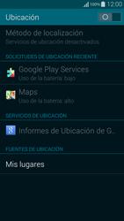 Uso de la navegación GPS - Samsung Galaxy Alpha - G850 - Passo 18