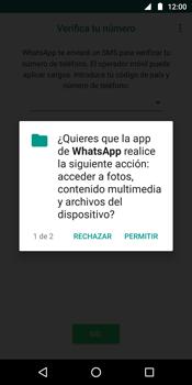 Configuración de Whatsapp - Motorola Moto G6 Plus - Passo 6