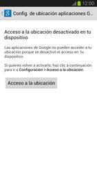 Uso de la navegación GPS - Samsung Galaxy S 3  GT - I9300 - Passo 5