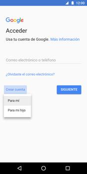 Crea una cuenta - Motorola Moto G6 Plus - Passo 4