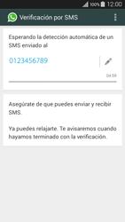 Configuración de Whatsapp - Samsung Galaxy A3 - A300M - Passo 8