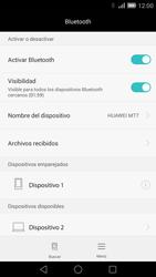 Conecta con otro dispositivo Bluetooth - Huawei Ascend Mate 7 - Passo 8