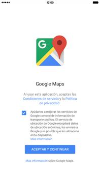 Uso de la navegación GPS - Apple iPhone 6 Plus - Passo 4