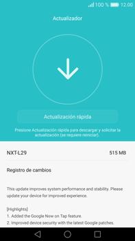 Actualiza el software del equipo - Huawei Mate 8 - Passo 7