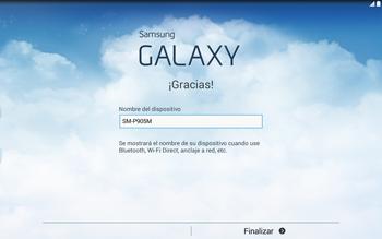 Activa el equipo - Samsung Galaxy Note Pro - Passo 12