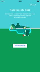 Uso de la navegación GPS - Apple iPhone 6s - Passo 5