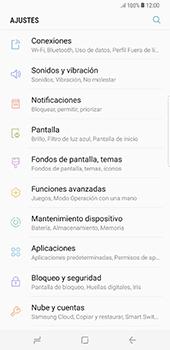Configura el Internet - Samsung Galaxy S8+ - Passo 4