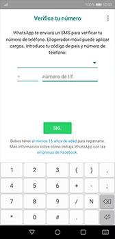 Configuración de Whatsapp - Huawei P20 - Passo 8