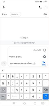 Envía fotos, videos y audio por mensaje de texto - Huawei P30 Pro - Passo 8
