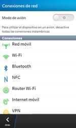 Configura el WiFi - BlackBerry Z10 - Passo 5