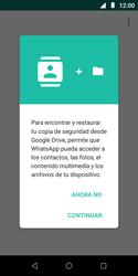Configuración de Whatsapp - Motorola Moto E5 Play - Passo 7