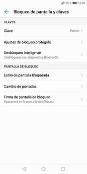 Desbloqueo del equipo por medio del patrón - Huawei Y6 2018 - Passo 10