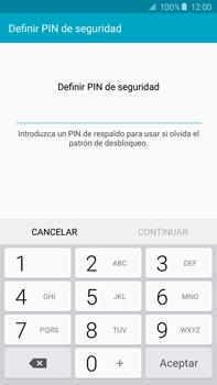 Desbloqueo del equipo por medio del patrón - Samsung Galaxy Note 5 - N920 - Passo 11