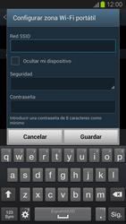 Configura el hotspot móvil - Samsung Galaxy S 3  GT - I9300 - Passo 8
