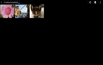 Transferir fotos vía Bluetooth - Samsung Galaxy Note Pro - Passo 7