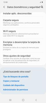 Cómo habilitar Carpeta Segura - Samsung Galaxy S20 - Passo 5