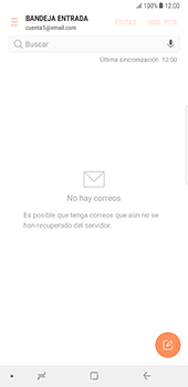 Configura tu correo electrónico - Samsung Galaxy Note 8 - Passo 6