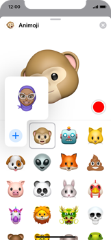 Enviar Animoji - Apple iPhone XS - Passo 9
