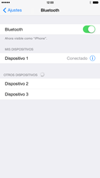 Conecta con otro dispositivo Bluetooth - Apple iPhone 6 Plus - Passo 7