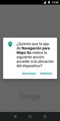 Uso de la navegación GPS - Motorola Moto E5 Play - Passo 18