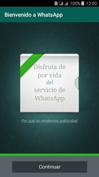 Configuración de Whatsapp - Samsung Galaxy J7 - J700 - Passo 8