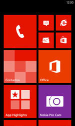 Configura el Internet - Nokia Lumia 800 - Passo 1