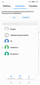 ¿Tu equipo puede copiar contactos a la SIM card? - Huawei P20 Lite - Passo 3