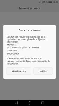 ¿Tu equipo puede copiar contactos a la SIM card? - Huawei Mate 8 - Passo 3