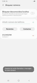 Cómo bloquear llamadas - Samsung Galaxy A12 - Passo 9