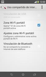 Configura el hotspot móvil - Sony Xperia E1 D2005 - Passo 12