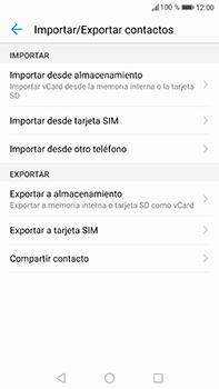 ¿Tu equipo puede copiar contactos a la SIM card? - Huawei P10 Plus - Passo 5