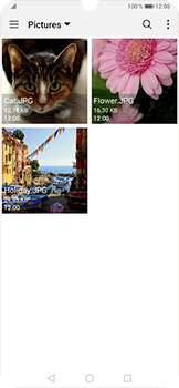 Envía fotos, videos y audio por mensaje de texto - Huawei P30 Pro - Passo 15